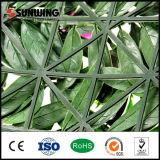 Новый зеленый цвет конструкции дешево выходит искусственная загородка изгороди с цветками напольным