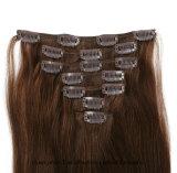 """clip de 8A Remy dans le cheveu dessiné par double 26 de la prolonge #4 de cheveu """""""
