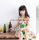 [هيغقوليتي] بنات زهرات ثوب [سليفلسّ] أطفال لباس