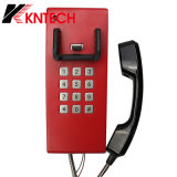 Antiker Telefon-Tunnel ruft Knzd-14 Kntech Bordbodentelefon an