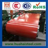 A cor revestiu as bobinas de aço galvanizadas (PPGI/PPGL)
