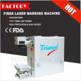 ステンレス鋼、Alumniumの金属、ABS、プラスチック彫版のためのセリウムのFDAのファイバーレーザーのマーキング機械