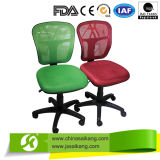 팔걸이 없는 다른 색깔 사무실 의자, 컴퓨터 의자