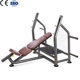 Máquina olímpica de la fuerza del banco de la pendiente de Equipemnt de la aptitud comercial de la gimnasia