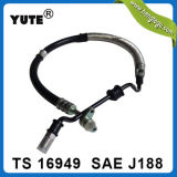 PRO Yute Brand 3/8 Inch - alto Pressure Power Steering Hose Assembly