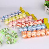 Decorações de ovos de páscoa plásticos com The-009