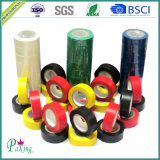 Конкурсное пламя красного цвета - лента PVC retardant электрическая (PVC010)