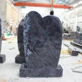 高品質のオリオンの青い花こう岩の墓石Traditionelle Stelen