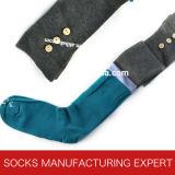 Woman Coloful Tube Sock (UBM1048)の100%年の綿