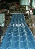 Feuille ondulée enduite d'une première couche de peinture de toiture en métal pour le matériau de construction