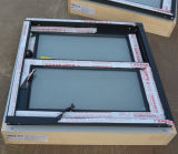 Finestra di scivolamento di alluminio di profilo Kz349 con il blocco per grafici di legno