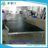 Stufe-Fußboden/justierbare Stage/Portable Stufe von Sgaierstage