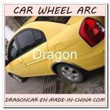 Guarnição do cromo do carro do protetor da sobrancelha da roda de carro