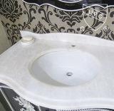Cupc (SN005)の楕円形の洗浄手洗面器の陶磁器の浴室の流し