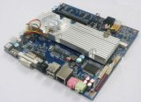 Placa madre embutida Itx basada Gm45 de Lvds de la memoria a bordo 2GB de Intel mini
