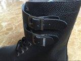 2016 zapatos de alta calidad con el cordón de seguridad y cubierta
