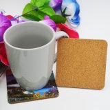 Práctico de costa de madera absorbente promocional barato de encargo de la taza