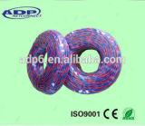 Fil Twisted et câble cuivre de baisse de téléphone en nylon coloré de fil