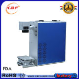 machine d'inscription de laser de la fibre 20With30With50W pour l'or