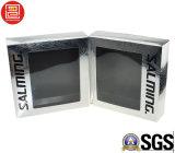 Doubel seitliches Drucken-verpackenkasten mit grossem Fenster, Splitter-Folien-Papierkästen
