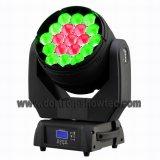 급상승 LED 이동하는 맨 위 세척 19X15W RGBW 4in1