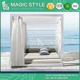 알루미늄 일요일 침대 옥외 침대 겸용 소파 새로운 디자인 두 배 침대 겸용 소파