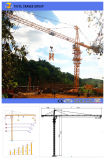 4ton Qtz50-5008上キットのタワークレーンの構築のタワークレーン