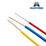 cable eléctrico del cobre del alambre del edificio del PVC del alambre eléctrico de 1.5m m