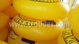 """42 """" zeer sterke overlapping Over die 2 persoon Inflatable Swimming Tube voor Water Park maakt"""