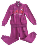 Vlies Kids Girl Sports Wear Suit in Children 's Clothes Swg-134
