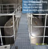 Перила горячего DIP гальванизированные стальные для стоячков индустрии и частей лестницы