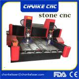 3D router de pedra do CNC da estaca da gravura do Embossment 5.5kw