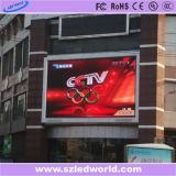 Publicidad de ventilación a todo color al aire libre pantalla LED de publicidad de vídeo (P6, P8, P10, P16)