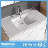 Самомоднейший лидирующий шкаф ванны дуба с таблицей шлихты типа конструкции блока новой (BF137M)