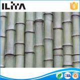 Comitati di pietra di bambù d'imitazione del rivestimento coltivati Mortarless del patio