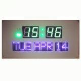 최신 디자인 다채로운 빛은 날짜를 보여주는 디지털 벽시계를 시켰다