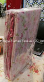 多卸し売り工場か綿材料キルトにするファブリック現代ベッドカバーの寝具の一定のベッド・カバーシートの女王または王または対または大型