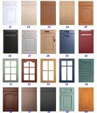 Подгонянная дверь неофициальных советников президента трасучки MDF лака твердой древесины PVC
