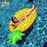 膨脹可能なパイナップル浮遊物。 パイナップル浮遊マットレス。 フルーツの浮遊物水マットレス、浮遊床