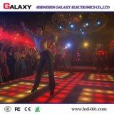 500*1000m m de aluminio a presión la pantalla de visualización interactiva de alquiler de la cabina P6.25/P8.928 LED Dance Floor de la fundición con el sensor de movimiento para la boda, acontecimientos