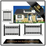 La rete fissa esterna di segretezza riveste la recinzione di pannelli di obbligazione di alluminio del giardino