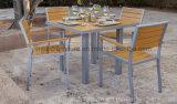 Полностью сад Polywood погод напольный штабелируя металл обедая мебель трактира бистро патио стулов