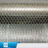 Rete metallica esagonale rivestita poco costosa del muro di sostegno del PVC di fabbricazione