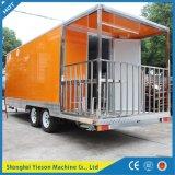 Völlig kundenspezifischer Schnellimbiss-LKW für Verkauf/Stahlnahrungsmittelbus