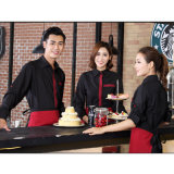 Uitstekende kwaliteit die in de In het groot Eenvormige Polyester van China/de Katoenen Kelner wordt gemaakt van het Restaurant
