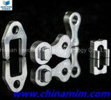 Pezzi meccanici dello stampaggio ad iniezione del metallo per l'anello dell'ugello (forcella)