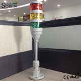 luces modulares de la torre de la señal de 70m m para la carrocería de Whte de la automatización industrial