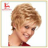 Parrucca piena del merletto della parrucca dei capelli di scarsità dei capelli umani per le donne