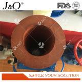 Válvula de compressão de flange pneumática de estilo novo DIN