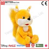 아이들 또는 아기 또는 아이 박제 동물 견면 벨벳 장난감 아기 다람쥐